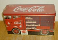 Vintage 1997 Coca-Cola Coke Route Truck Tin w/ Butter Popcorn (Factory Sealed)