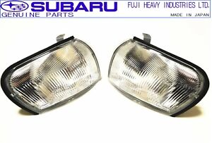 SUBARU GENUINE GC8 Impreza WRX STI Corner Turn Signal Lamp Light Set