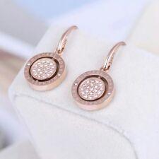 Michael Kors Rose Gold Tone Crystal Earrings