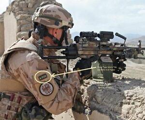 Kandahar Whacker Isaf Jsoc Sp Ops SAS JTF2 Ksk Languette : Sang Type (O Pos) X 2
