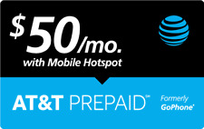 $50 AT&T PREPAID REFILL DIRECT to PHONE GET IT TODAY! 🔥 IF PAY BEFORE 11 PM ET