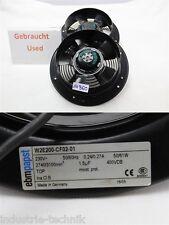 EBM papst W2E200-CF02-01 Lüfter Axiallüfter Ventilator Gebläse  230 v