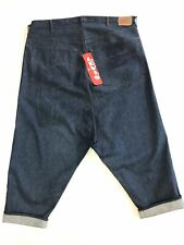 Vintage 1970s Levi's 501 Rodeo Clown Big E Display Denim Jeans W 54  L25
