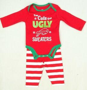 Buffalo Bills NFL Team Apparel Infant Creeper Set