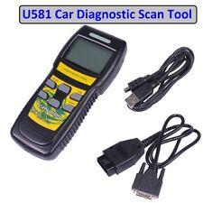 OBD2 Motor de Coche Diagnóstico Escáner Auto código lector Can Bus Falla Escanear Herramienta U581