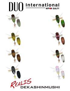 DUO Realis Dekashinmushi Magnum Topwater Cicada Bug Lure - Select Color(s)