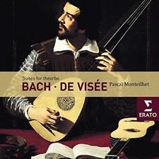 Pascal Monteilhet - Bach/De Visée: Suites For Theorbo (NEW 2CD)
