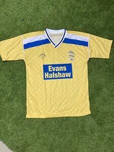 Birmingham City 1988-89 Away Shirt Large (yellow) With Sponsor