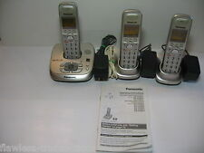 Panasonic-KX-TG4021 Digital Cordless 3 Phone Answering System Dect-6.0 (P21)