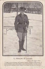 * Royalty - Wwi - The Prince of Galles in Italy 1918 Military Mail 177