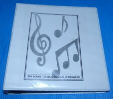 309 Songs to Sing in Your Underwear / Ultimate Cover Book with Chords/Lyrics. 38