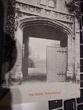 HOSTEL FOTHERINGAY  ANTIQUE POSTCARD CIRCA 1905