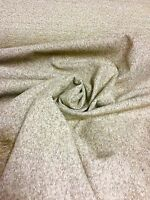 BEAUTIFUL GREY WOOL CHENILLE UPHOLSTERY FABRIC 4 METRES