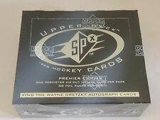 1996-97 Upper Deck SPX  Hockey Factory Sealed Box - Gretzky Autograph??