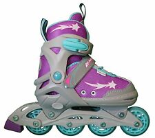 Athena Girls Outdoor/Indoor Adjustable Inline Skates
