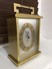 Vintage Reloj Angelus Carro/Mantel trabajando muy bien-hecho En Suiza