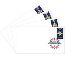 US 5065-5068 Service Cross Medals DCP (set of 4) FDC 2016