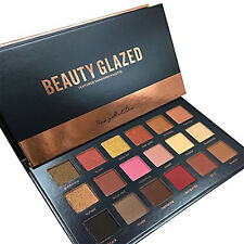 Huda Beauty Desert Dusk 18 Colors Makeup Eyeshadows Textured Palette Rose Gold