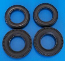 """1:8 Scale *-* Monogram 1963 issued Big """"T"""" Black Wall Tire Set *** free shipping"""