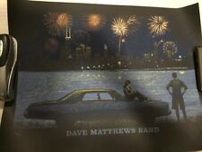 Dave Matthews Band Poster 7/4/2014 Chicago IL Numbered #148/1410 Rare!!