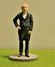 Danbury Mint Pewter By D. LaRocca Hand Painted President to scale M. Van Buren