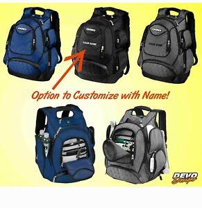 OGIO Metro Pack Backpack 711105 Laptop Sleeve Customize Personalize Name