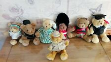 """Lot de 7 oursons """"THE TEDDY BEAR"""" collection"""