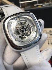Sevenfriday P-SERIES | ENGINE P1C/01  Rare NFC NEW All White ALBA