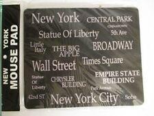 New York City Mouse Pad Mousepad Mauspad 23 cm Broadway Chrysler Empire Soho