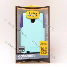 Otterbox Commuter Samsung Galaxy S4 Shockproof Case Lily Purple Aqua Teal Blue