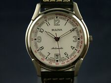 NOS Vintage Bulova Automatic Watch Circa 1980s Swiss New Old Stock ETA 2892-A2