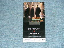 "AFTER 7 Japan Only 1990 PROMO NM Tall 3"" inch CD Single READY OR NOT"