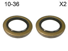 TWO Trailer Axle Dexter Grease Seals 10-36 5.2K - 8K I.D. 2.250 O.D. 3.376