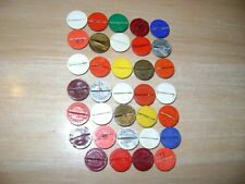 More details for subbuteo- assorted celluloid/flat bases needing some attention
