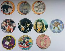 Official Caps POG The Lost World Pokemon Warner Bros VR Troopers Tazo Pogs 10 pc