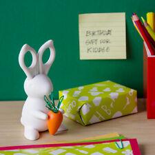 Desk Bunny - Scissors Paper Clips Holder Magnet Office Qualy New Genuine