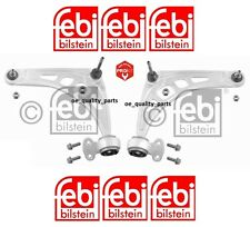FEBI FRONT SUSPENSION WISHBONE CONTROL ARM SET KIT + BUSH BMW 3 E46 Z4 E85