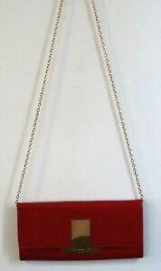 Aldo Chain Purse Red