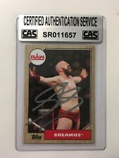 Sheamus WWE Autographed Card with COA