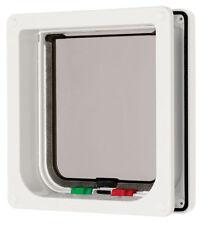 4 Way Locking Flap & Liner White 16.5x17.4cm