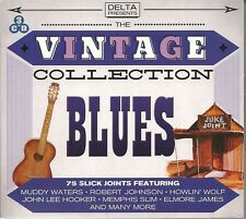 THE VINTAGE COLLECTION BLUES - 3 CD BOX SET - MUDDY WATERS & MORE