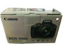 New Canon EOS 4000D DSLR Wifi Digital Camera & EF-S 18-55 mm f/3.5-5.6 III Lens