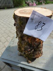 Drechselholz Grünholz Apfelbaum Apfelholz Apfel Basteln Schnitzholz Drechseln 83