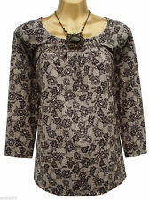 Marks and Spencer 3/4 Sleeve Scoop Neck Party Women's Tops & Shirts