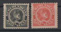 G129764/ NEWFOUNDLAND / CANADA / SG # 59 - 62 MINT MH – CV 100 $