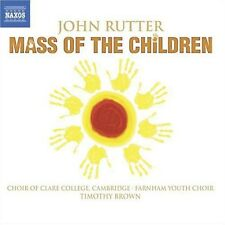 Farnham Youth Choir, J. Rutter - Mass of the Children [New CD]