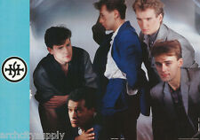 POSTER : MUSIC : SIMPLE MINDS - GROUP POSE - FREE SHIPPING !    #AA125  LW11 C