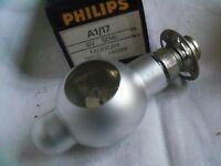 Projector bulb lamp A1/17 for A1/263 A1/185 A1/202 8v 50w 13120C/04  . 1  fx
