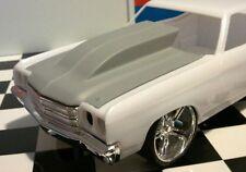 LEX'S SCALE MODELING Resin Outlaw Hood '70 Chevelle! Revell 1/24.  NEW!  HOT!