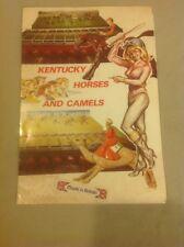 ELTON KENTUCKY DERBY British Gambling Game Vintage Advertising Brochure RARE!!